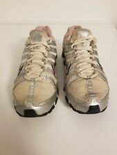 Nike Shox NZ Heritage Womens Running Shoes Silver/white. Size 9.5.