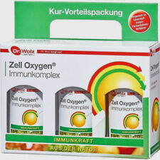 Dr.Wolz Zell Oxygen Immunkomplex 3 x 250ml PZN 05456087 + Infos + Gratiszugabe