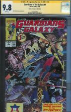 CGC SS 9.8 GUARDIANS OF THE GALAXY #1 SIGNED BY STAN LEE 1ST SERIES 1990