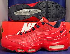 Nike Air Max 95 iD Red Navy USA SZ 10 ( 818592-992 )