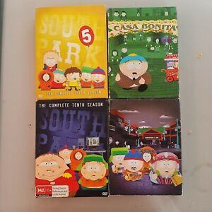 South Park DVD Box Bundle Set Seasons 5 7 10 12 Great Condition