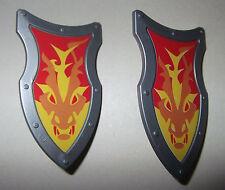27500 Escudo dragón 2u playmobil,shield,scudo,lion,leão,leão,leone