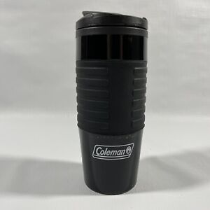 Coleman Black Vacuum insulated 16 Oz Travel Coffee Tumbler Mug Cup