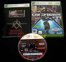 CRACKDOWN 1 XBOX 360 Versione Italiana Crack Down 1ª Edizione ••••• COMPLETO