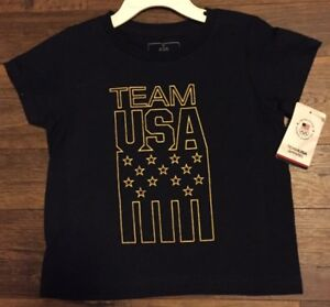 Team USA Olympic Team Apparel Tee Shirt - Size -2T