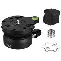 Dy-60A Aluminum Alloy Tripod Leveling Base Panorama Photography Ball Head w Z8V9