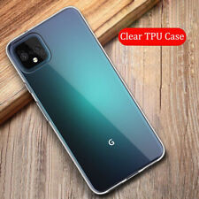 For Google Pixel 5 4A XL Ultra-thin Transparent Crystal Soft TPU Back Case Cover