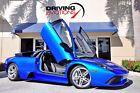 2008 Lamborghini Murcielago LP 640 2008 Lamborghini Murcielago LP640 LP 640 6367 Miles Monterey Blue Coupe V12 6.5L