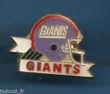 Pin's pin FOOTBALL AMERICAIN CASQUE DES GIANTS (ref L12)