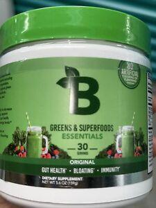 Greens & Superfoods Essentials 30 Servings Original Fla 7.5oz Exp 06/2022 Sealed