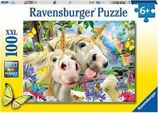 NEW! Ravensburger Don't Worry Be Happy 100 piece extra large unicorn jigsaw 6+