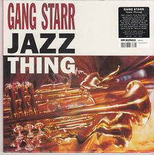 """GANG STARR JAZZ THING  7"""" MINT REISSUE"""