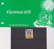 ISOLA di Man presentazione Pack 1978 Natale Caccia alla Wren 10% OFF 5+