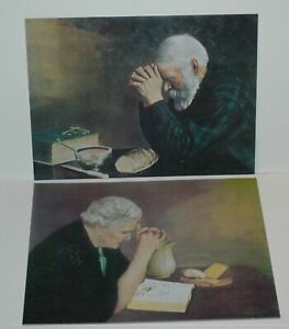 Eric Enstrom Jack Garren GRACE AND GRATITUDE 16x20 Textured Mounted Paper Set