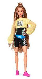Barbie BMR1959 Bambola Snodata con Chignon Tuta e Look Sportivo Streetwear GHT91
