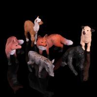 Réaliste Renard Roux Faune Zoo Figurine Animale Modèle Figure Pour Les Enfa FETR