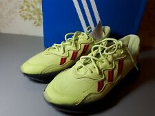 Mens Adidas Yellow Ozweego Trainers Size 9