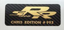 2 x sport automobile racing Autocollants Limited Edition carbone pour moto ou voiture