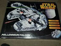 Star Wars millennium falcon open but complete hasbro 2005 new in opened box