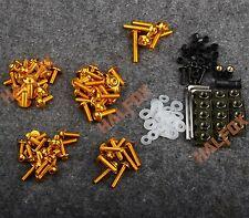 Gold Fairing bolts screws for KTM DUKE 125 200 390 1190 1290 990 690