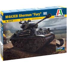 ITALERI M4A3E8 Sherman Tank Fury 6529 militaire 1:35 Modèle Kit