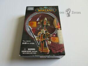 World of Warcraft Mega Bloks Set #91004 VALOREN with Spear Staff Figure New NIB