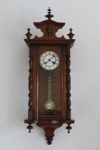 OLD 100% ORIGINAL BEAUTIFUL COLLECTORS  JUNGHANS WALL CLOCK  !!!