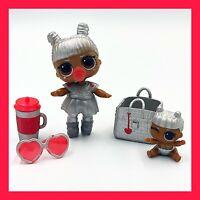 MGA LOL Surprise TINZ & Lil Tinz Series 4 Silver Doll