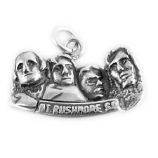 925 Sterling Silver Mount Rushmore Charm