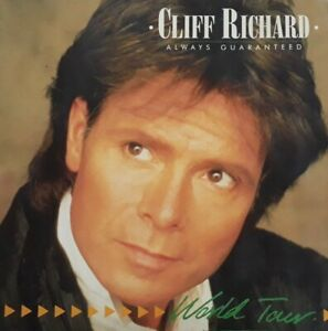 Cliff Richard Always Guaranteed World Tour 1987 Programme.Merchandising Leaflet.