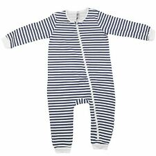 Kids Girls Boys Toddler Rompers Navy Stripped Baby Sleepsuit Bodysuits Jumpsuits