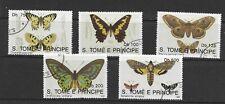 Sao Tome and Principe 1992 Butterflies F/U (77)