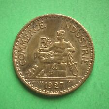 1927 France Silver 1 Franc SNo55298