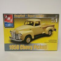 AMT ERTL 1950 Chevy Pickup Snapfast 1:25 Scale Model Kit New