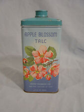 Motif Cosmetic Co. Apple Blossom Talc Tin  from New York, Oakland & St. Louis