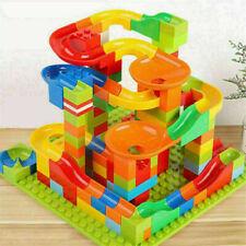 165stk Blocks Building Kinder Spielzeug Bausteine Blöcke Rennen Ball Blöcke DIY