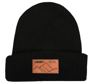 509 BLACK FIRE Beanie Hat Cap - One Size Fits Most - NEW