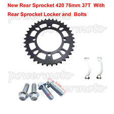 Rear Chain Sprocket  420-76mm-37T  For Chinese 110cc 125cc 150cc Pit Dit Bike