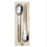 Laguiole 2 piece Salad Servers - Metallic Gold by Jean Dubost