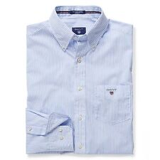 Gant Men's Long Sleeve Striped Casual Shirts & Tops