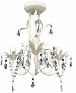 Modern Crystal Hanging Light Pendant Ceiling Lamp Chandelier Elegant Flower Home