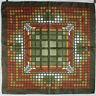 BURBERRY   foulard 100% soie  en TBEG vintage et authentique  86 X 88 cm