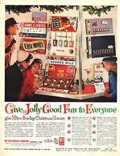 1963 Christmas Toy Games AD MILTON BRADLEY , Easy Money, Stratego, Life 121118