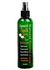 Coconut Oil Remineralizing Tooth Spray with Cacao Chocolate Extract