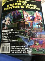 EGM Electronic Gaming Monthly - 1993 VIDEO GAME BUYERS GUIDE Preowned