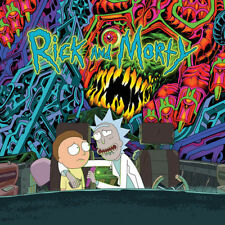 THE RICK AND MORTY SOUNDTRACK (Double Green/orange  LP Vinyl) sealed