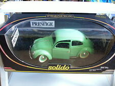 Solido Prestige VW Volkswagen Beetle Split Window in Green on 1:18 Box