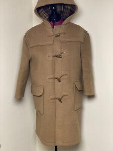 Gloverall Women's Beige Duffle Coat UK Size M