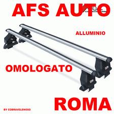 BARRE PORTATUTTO ALLUMINIO FIAT MULTIPLA OMOLOGATO MADE IN ITALY.