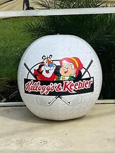 Rare Vintage 1994 Kelloggs & Keebler Golf 48in Beach Ball Inflatable Pool Float